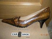 Туфли новые CAR shoe(Италия)37, 5-38