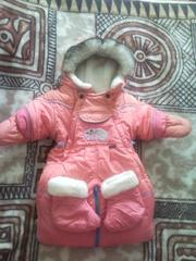 Детская куртка-трансформер.