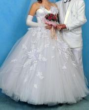 Продам белое свадебное платье Лилия